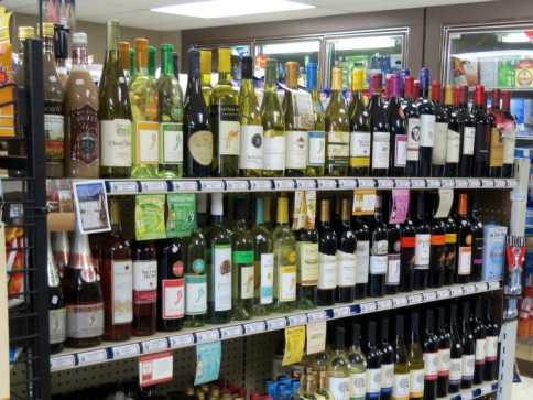 Over 75 varieties of Wine